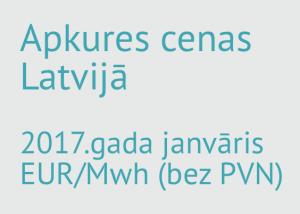 Apkures maksas salīdzinājums Latvijā