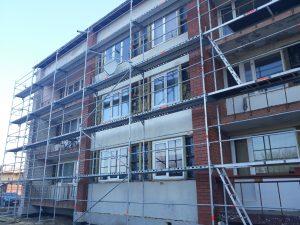 Vēl viena dzīvojamā māja tiek atjaunota!