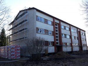 """Ēkas atjaunošana Garkalnē, """"OZOLI"""""""