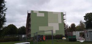 Ēkas atjaunošana, Lazdu ielā 5